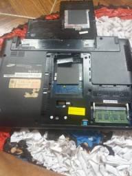 Carenagem notebook Samsung com placa