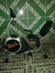 Bicicleta Ergométrica Houston Magnética BE50 AC- Prata