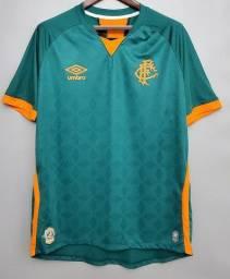 Camisa Fluminense Iii 2020 Verde Pronta Entrega