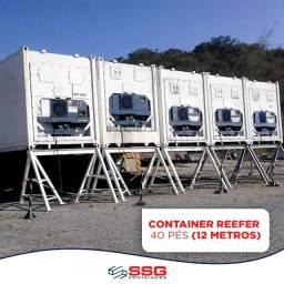 Título do anúncio: Container Frigorífico Refrigerado -30ºc Câmara Fria Aço Inox