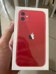 IPhone 11 ( 12X Sem Juros + Nota Fiscal ) Vermelho/Red