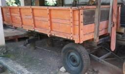Carreta de Madeira para Trator - #4977