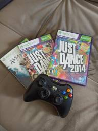Kit de jogos + controle original Xbox 360 comprar usado  João Pessoa