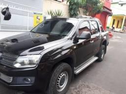 Amarok 4X4 Cabine dupla -2011/2012 - Diesel- Preta - 2012