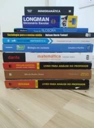Livros do ensino médio do Sesi