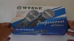 Microfone profissional c\ fio