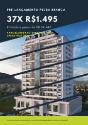 Apartamento perto do passeio Pedra Branca 2 dormitórios com suite (Lançamento)