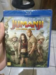 Jumanji: bem vindo a selva (bluray)
