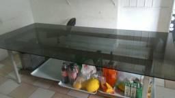Mesa de Vidro 2 metros e meio