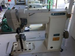 Máquina de costura transporte triplo Lanmax