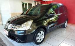 Nissan Livina 1.8 SL Automática Impecável Bancos em Couro - 2012