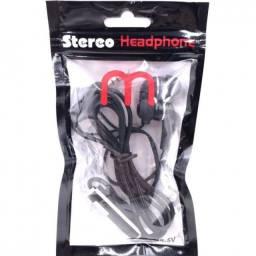 Fone de Ouvido Estéreo Headphone