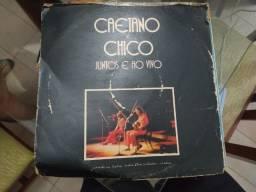 LP Caetano e Chico Juntos e Ao Vivo