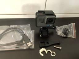 Título do anúncio: GoPro Hero 6 Black 4k + Acessórios capacete + Prova Dágua - Comando de Voz