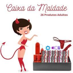 Título do anúncio: Caixa da Maldade - Produtos Adultos para uso próprio, estoque, dar de presente ou revenda