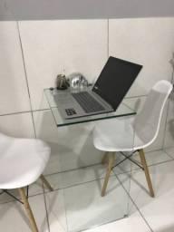 Título do anúncio: Mesa de vidro para estudo e computador