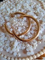 Semi jóias banhada a ouro 18k