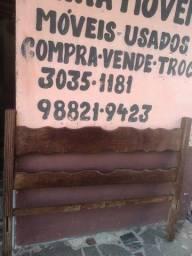 Título do anúncio: Cama de viuvo madeira macanaiba 1,28 mt