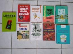 Livros Didáticos, sobre pais e filhos.