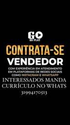 Título do anúncio: CONTRATA-SE VENDEDOR HOMEM
