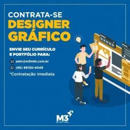Título do anúncio: Empresa em expansão contrata Designer Gráfico com experiência!