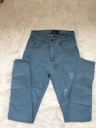Título do anúncio: calça feminina jeans clara