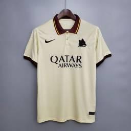 Camisa Roma Reserva 20-21 tamanhos M , G e GG, a pronta entrega