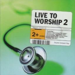 Título do anúncio: CD Live To Worship 2 Duplo