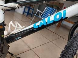 Título do anúncio: Bicicleta Caloi semi nova