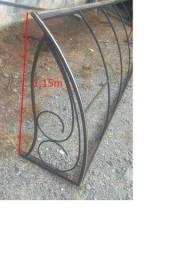 Título do anúncio: Toldo ferro somente a armação 5,40 x 1,15 metros
