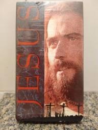 Fita VHS filme Jesus - uso em vídeo cassete