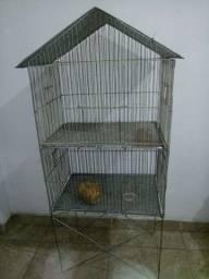 Viveiro para calopsita ou pássaros