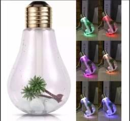 Mini Difusor De Ambiente Eletrico Lampada Usb