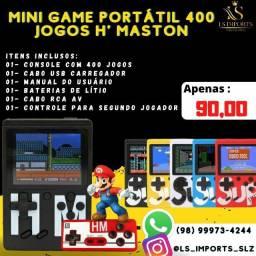 Mini Game Portátil H'maston 400 jogos