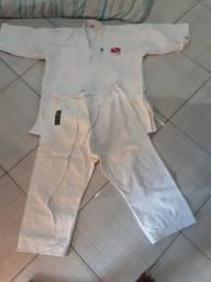 Kimono de karate lona grossa usado