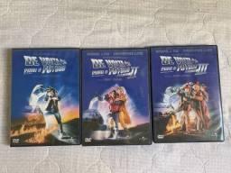 Dvd Box Trilogia De Volta Para O Futuro - Original