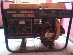 Título do anúncio: Gerador 3600 127/220 a diesel