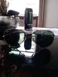 Óculos unissex RayBan original fone: *