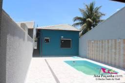 Linda Casa de 3 Quartos com Piscina em Itaipuaçú!