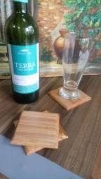 Título do anúncio: Porta copos de madeira