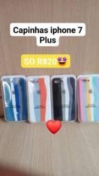 Título do anúncio: Capinhas iphone 7 plus algodão doce