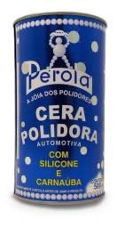 Cera Polidora Automotiva Com Silicone Carnaúba Pérola 500ml
