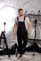 Título do anúncio: Jardineira masculina sem 100% algodão