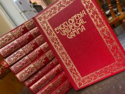 Enciclopédia Universal Gamma Vol 1-10
