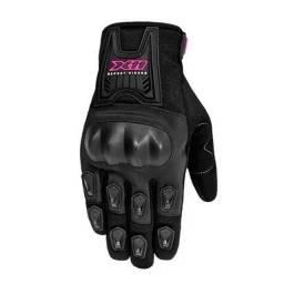 Luva X11 Blackout C/ Proteção Feminino preto/pink - somos loja, parcelamos