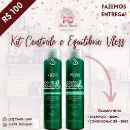 Kit Vloss para cabelos Controle e Equilíbrio