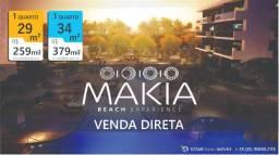 Makia Beach | 1 Quarto | 29 e 34m² | Flats em Porto de Galinhas