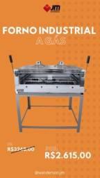 Título do anúncio: Forno industrial gás Roma Inox - Vendedor Wanderson