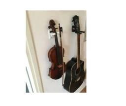 Título do anúncio: Suportes de Parede para Violino e Vara, Viola_m103