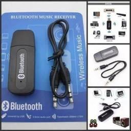 Receptor Bluetooth Usb P2 Áudio Músicas Som Carro com garantia de 60 dias